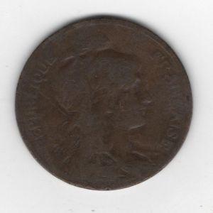 Francia, 5 céntimos, 1906. 149407920