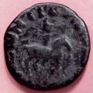 AE Dracma kushan de Soter Megas (80-100 DC) 162665681