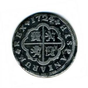 2 Reales de Felipe V (Sevilla, 1724) 173796760