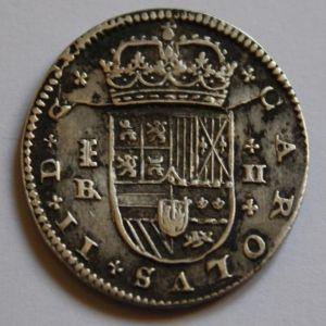 2 Reales de Carlos II (Segovia, 1686) 187255286