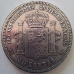 Un lote de monedas falsas, duros, dollares, pesos mexicanos, etc 207482655