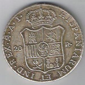 20 reales de 1808 de Jose I [FALSA] 23211739