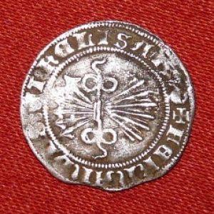 Medio Real a nombre de los Reyes Católicos (Burgos, 1520) ensayador Diego de Peñarada 253728342
