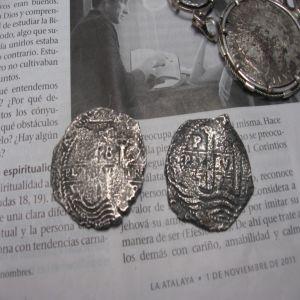 8 Reales de Felipe IV (Potosí, 1655) y otra del mismo valor 256097070