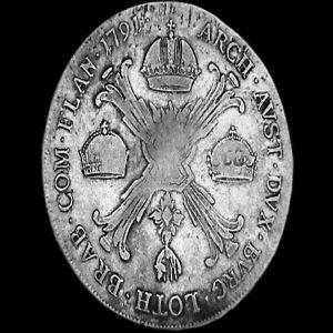 1 Kronenthaler del Emperador Leopoldo II  265436610