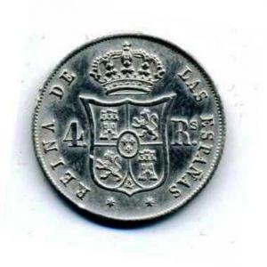 4 reales de Isabel II de??? 293508441