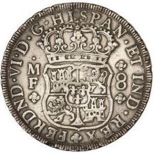 8 Reales de Fernando VI (México, 1754) 29776813