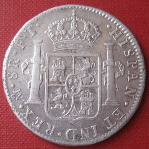 8 Reales de Carlos IV (México, 1803 FT) [WM n° 8477] 298788748