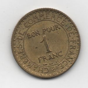 commerce - Francia - 1 Franc Commerce Industrie 1922 309098061