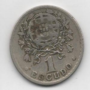 Portugal, 1 Escudo, 1927. 313957863