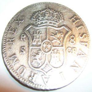 8 Reales de Carlos III, año 1772 (FALSA) 3549826
