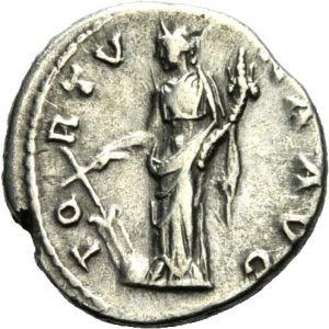 Denario de Hadriano (FORTVNA AVG) 362160659