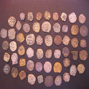 Colección de dineros Valencianos falsos de época 377123752