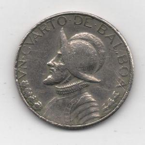 Panamá, 1/4 Balboa, 1975. 379094161