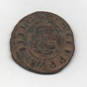 "8 Maravedíes ""busto"" de Felipe IV (1661-1664) falsa de época 390150895"