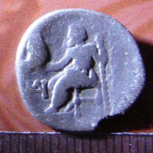 Dracma de Alejandro Magno, de Miletos 410429474