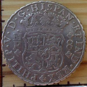8 Reales de Felipe V (México, 1746) 421746343
