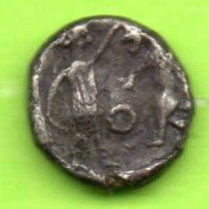 1/8 de Shequel Fenicio de Bodashtar 355-340 BC 43975972