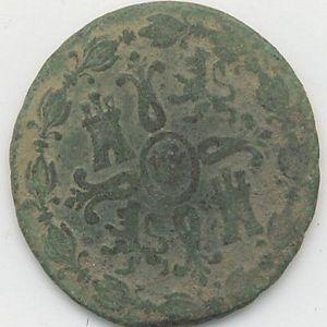 8 maravedíes de Fernando VII 444391692