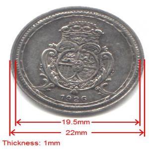 Inusual artículo: España 50 centimos 1926 no seleccionada moneda de prueba? 447454081