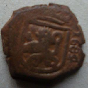 2 Maravedíes de Carlos II 454900186