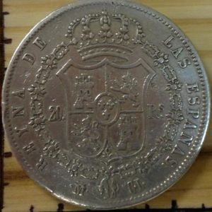 20 reales, 1849. Madrid. 459570759