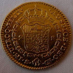 2 Escudos 1809, Sevilla. 465425513