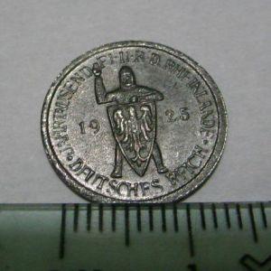Republica de Weimar, 5 Reichsmark, 1925 (reproducción). 466803043