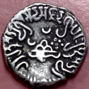 Dracma de Damazada II (160-170) , Satrapas del Oeste, India 472059147
