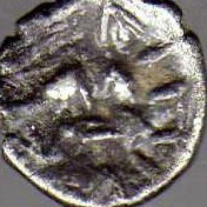 Hemióbolo persa de Dario II 483696646