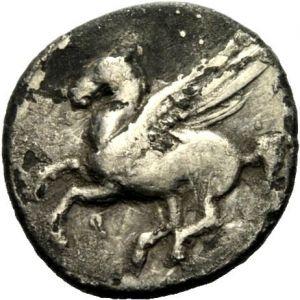 Dracma de Corinto, Corintia (350 AC) 539413805