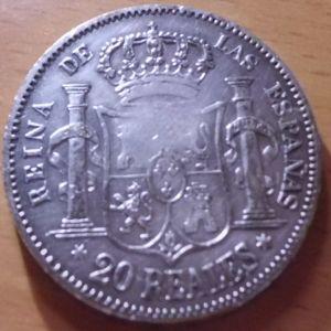 4 reproducciones sobre monedas de plata 555079665