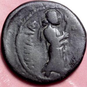 AE Didracma kushan de Kanishka I 555158428