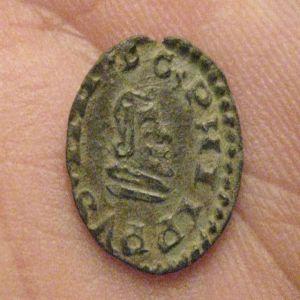 """2 Maravedíes """"busto"""" de Felipe IV (Trujillo, 1663) 558636875"""