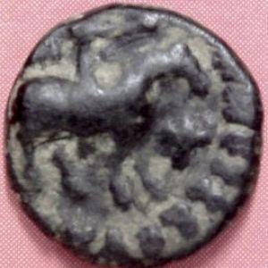 AE Dracma indo-escita de Azes II 571836693