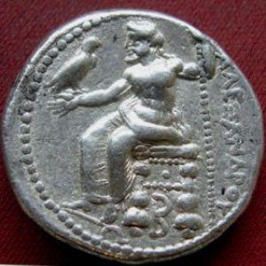 Tetradracma de Alejandro Magno, Tarsos en Cilicia ( acuñación en vida) 597766043