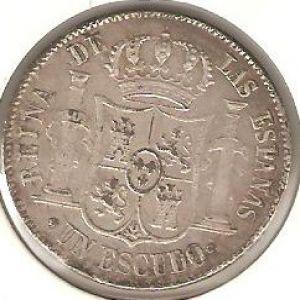 1 escudo 1867 falso de epoca 632433094
