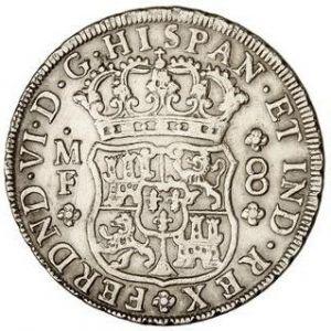 8 Reales de Fernando VI (México, 1754) 661798292