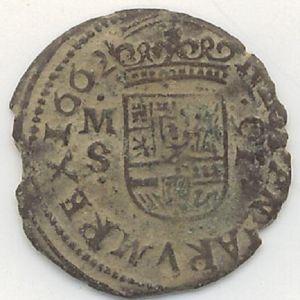 "16 Maravedíes ""busto"" de Felipe IV (Madrid, 1662) 661990720"