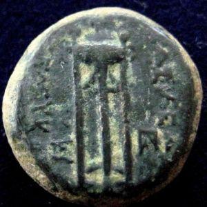 AE 14 seleucida de Seleucos I Nikator 676945982