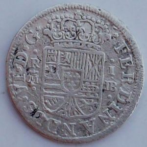 1 Real de Fernando VI (Madrid JB, 1756) [WM n° 7560] 717990592