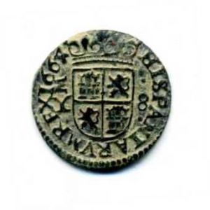 "8 Maravedíes ""busto"" de Felipe IV (Madrid, 1664) 72962839"
