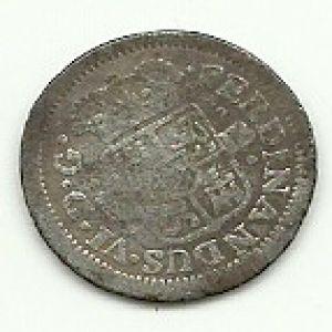 Medio Real de Fernando VI (Madrid, 1757 JB) 75386404