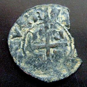 Cruzado de Enrique II (1369) emisiones posbélicas 7970683