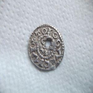 Obolo  de Carlos II ,Francia . 802467948