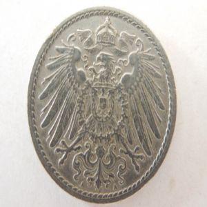 5 peniques de 1904 deuthes reich 803490370