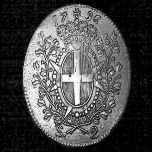 2 Escudos del Gran Maestre Emmanuel de Rohan (Malta, 1796) 808488969