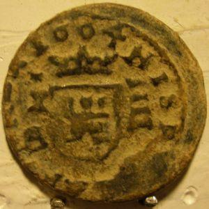 """4 Maravedís """"Busto"""" de Felipe IV (Cuenca, 1664) 82468580"""