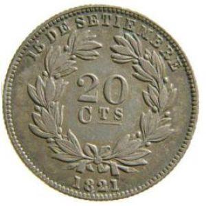 Nicaragua, 20 Ctvs. 1880 833026285