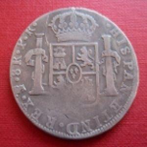 8 Reales de Carlos III (Potosí, 1782) ¿falsa de época, reproduccíon moderna? 835630889